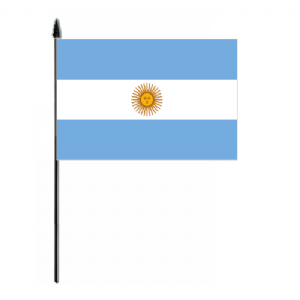 Argentina Country Hand Flag - Medium.